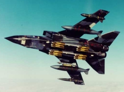 Tornado fighter plane similar to the one shot down by a US Patriot battery.