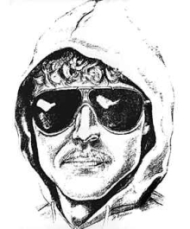 The FBI&#8217;s sketch of the as-yet-unidentified &#8216;Unabomber.&#8217;