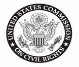US Commission on Civil Rights logo.