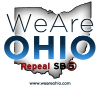 &#8217;We Are Ohio&#8217; logo.