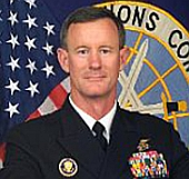 Vice Admiral William McRaven.
