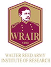 Walter Reed Army Institute of Research logo.