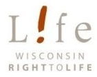 Wisconsin Right to Life logo.