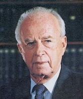 Yitzhak Rabin.