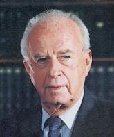 Yitzhak Rabin.