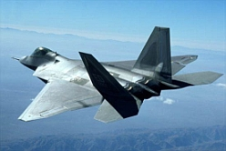 The F-22 Raptor.
