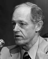 Howard Hunt during the Senate hearings.