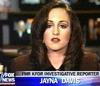 Jayna Davis, appearing on a Fox News broadcast.