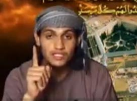 Abdulaziz Alomari in his martyr video.