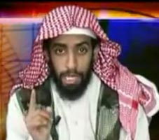 Ahmed Alghamdi in his martyr video.