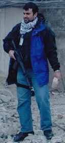 Ali Soufan in Afghanistan after 9/11.