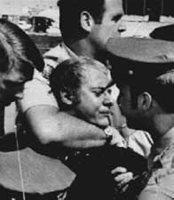 Arthur Bremer being restrained after shooting George Wallace.