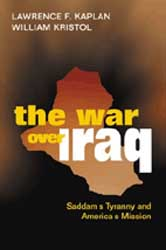 War Over Iraq book cover.