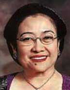 Megawati Sukarnoputri.