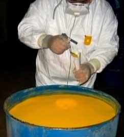Yellowcake.