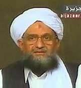 A man thought to be Ayman al-Zawahiri.