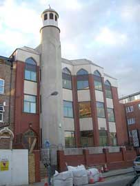 Finsbury Park mosque.