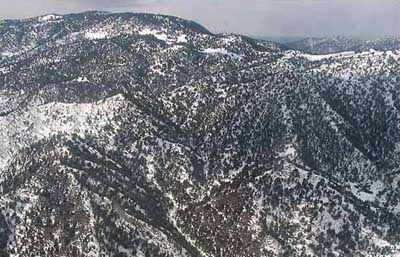 The mountains of Waziristan.