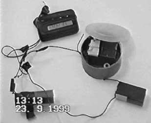 Ryazan bomb detonator.