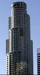 The Library Tower in Los Angeles. It is later renamed the US Bank Tower.