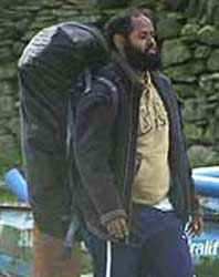 Surveillance photo of Muktar Ibrahim at a training camp in Britain.