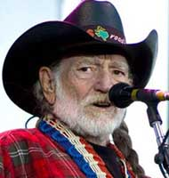 Willie Nelson.