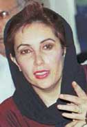 Pakistani Prime Minister Benazir Bhutto in 1991.