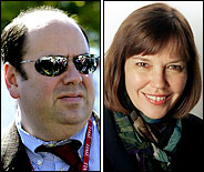 Matt Cooper and Judith Miller.