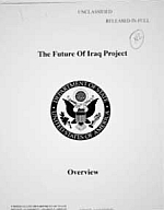 The Future of Iraq dossier cover.