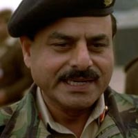 Hamid Gul serving as a Pakistani military officer in the 1980's.