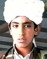 Hamza Bin Laden in 2001.