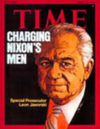 Time cover of Leon Jaworski.