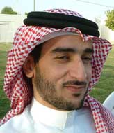 Juma al-Dosari in Saudi Arabia after his release.