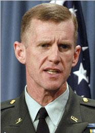 Lieutenant General Stanley McChrystal.