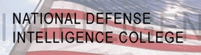 National Defense Intelligence College logo.