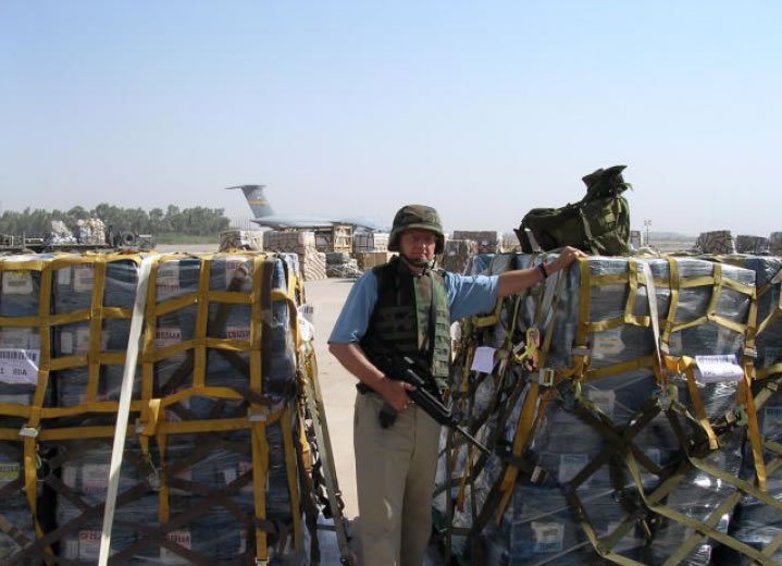 Pallets of US Currency Arriving in Iraq