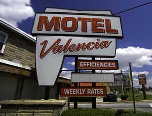 The Valencia Motel.