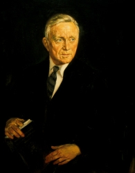 Official portrait of Justice William O. Douglas.
